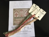 3 skeins of Classic Colorworks floss with free Little House Needleworks chart ~ Nashville 2017