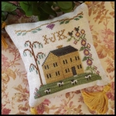 IJK #4 ~ Little House ABC Samplers from Little House Needleworks