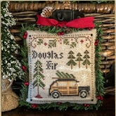 Jack Frost's Tree Farm ~ Part 2 ~ Douglas Fir ~ Little House Needleworks
