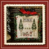 Jack Frost's Tree Farm ~ Part 6 ~ Fresh Pines ~ Little House Needleworks