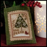 Joy and Peace ~ Ornament #9 ~ from Little House Needleworks