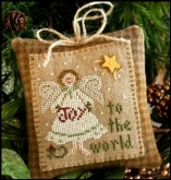 Joy to the World ~ Ornament #12 ~ Little House Needleworks
