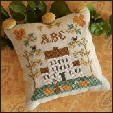 ABC #1 ~ Little House ABC Samplers from Little House Needleworks