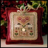 Love ~ Little Sheep Virtues #2 from Little House Needleworks