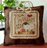Wisdom ~ Little Sheep Virtues #8 from Little House Needleworks