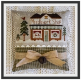 Needlework Shop ~ Chart #15 ~ Hometown Holiday series from Little House Needleworks