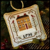 Old Colonial ~ Chart #1 in the Sampler Tree Ornament Series from Little House Needleworks