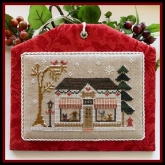 The Pet Store ~ Chart #9 in the Hometown Holiday series from Little House Needleworks