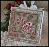 Peppermint Twist Ornament of the Month #9 ~ Little House Needleworks