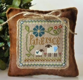 Patience ~ Little Sheep Virtues #7 from Little House Needleworks