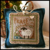 Peace ~ Little Sheep Virtues #3 from Little House Needleworks