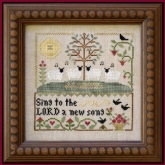 Sing to the Lord ~ chart #2 in These are My Sheep Series /Little House Needleworks