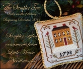 Sampler Tree Ornament Series from Little House Needleworks