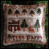 Tree Farm ~ Ornament #2 ~ 2012 Series from Little House Needleworks
