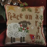 Winter Sheep Ornament of the Month #5 from Little House Needleworks