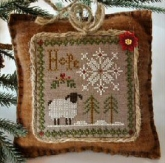 Hope ~ Little Sheep Virtues #1 from Little House Needleworks