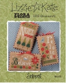 Flora McSample 2012 Ornaments from Lizzie Kate ~ 1 only!