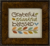 Grateful Thankful Blessed from Lizzie Kate ~ 1 only!