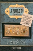 Spooked Mystery Sampler Chart pack with Embellishments from Lizzie Kate ~ 3 only!