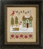 Winter ~ 4 Seasons Flip It from Lizzie Kate ~ 1 only!