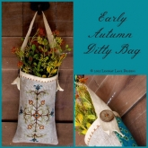 Early Autumn Ditty Bag from Lindsay Lane Designs ~ Exclusive Limited Kit ~ 1 only!