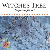Witches Tree from Lindsay Lane Designs ~ Norden Crafts Fall Market ~ 1 only!