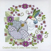 Hibiscus And Hummingbird from Lesley Teare Designs