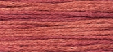 Lancaster Red ~ 1333 ~ Hand dyed cotton floss from Weeks Dye Works ~ 5 yd skeins