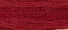 Licorice Red ~ 228 ~ Hand dyed cotton floss from Classic Colorworks ~ 5 yard skein