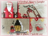 Cardinal Mystery Sampler Series from Mani di Donna ~ Nashville 2017