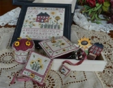 Sunflower Cottage Sewing Box from Mani di Donna