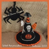 Witch Hat Pincushion from Mani Di Donna ~ 1 only!