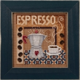 Espresso (2020) ~ Buttons & Beads Autumn kit ~ Mill Hill