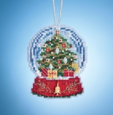 Christmas Tree Globe (2019) ~ Charmed Ornaments from Mill Hill