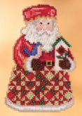 Cozy Christmas Santa (2013) kit from Mill Hill / Jim Shore ~ 2 only!