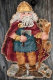 Celtic Wales Santa (2015) Santa Ornament Kit from Mill Hill