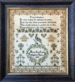 Mary Ann Lynn 1855 Sampler ~ Milady's Needle ~ 2 only ~ Save 50%!