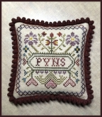 Spring Pyn Pillow from Milady's Needle