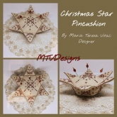 Christmas Star Pincushion from MTV Designs