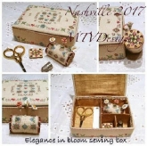 Elegance in Bloom ~ Sewing Set including templates ~  from MTV Designs ~ Nashville 2017