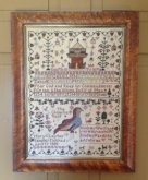 Mary Clay 1805 ~ The Chinese Quail Sampler from Merry Wind Farm