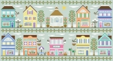 Main Street ~ 10 Part Series from Country Cottage Needleworks