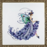 Wisteria ~ Pixie Blossom Collection from Nora Corbett Designs