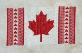 Maple Leaf Canadian Flag from Northern Expressions Needlework