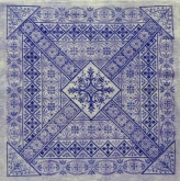Shades of Indigo from Northern Expressions Needlework