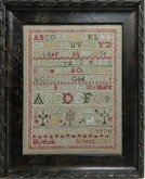 Agnes Outterson 1903 ~ Reproduction Sampler from Needlemade Designs ~ Nashville 2019