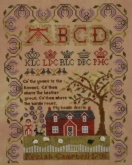 Keziah Campbell 1796 ~ Reproduction Sampler from Needlemade Designs ~ Nashville 2017