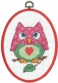 Owl ~ My First Kit from Permin