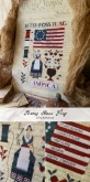 Betsy Ross Flag from the Primitive Hare
