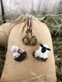 The Sheep Company ~ Pin Set from the Primitive Hare